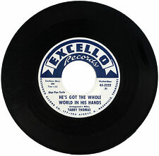 "TABBY THOMAS  ""HE'S GOT THE WHOLE WORLD IN HIS HANDS""   CLASSIC  LISTEN!"