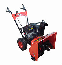 """Echelon 24"""" 196cc Two Stage Snow Blower Thrower - Free Shipping!!"""