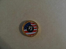 CHALLENGE COIN USMC US MARINE CORPS HOWLIN MAD DETACHMENT 93 HOBART INDIANA