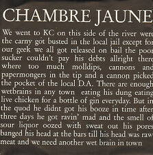 "CHAMBRE JAUNE - K.c. (1991 VINYL SINGLE 7"" DUTCH EXPERIMENTAL WAVE)"