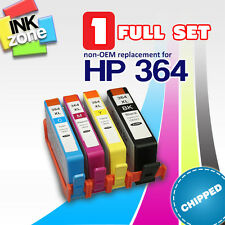 Full Set of non-OEM Ink Cartridges for HP PhotoSmart All in One C309g (364XL)
