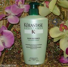 KERASTASE RESISTANCE BAIN DE FORCE 500ml or 16.9oz WITH PUMP!!! SPEEDY SHIPPING!
