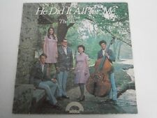 THE WARD FAMILY - He Did It All For Me - SCARCE GOSPEL LP
