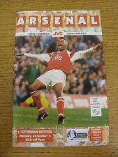 06/12/1993 Arsenal v Tottenham Hotspur  (Excellent Condition)