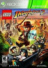 LEGO INDIANA JONES 2 THE ADVENTURE CONTINUES XBOX 360! TREASURE, FUN FAMILY GAME