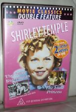 SHIRLEY TEMPLE: 2 MOVIES: THE BABY BURLESQUES + LITTLE PRINCES – DVD