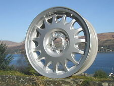 "New Stunning Genuine Original Saab 900 9000 15"" Soft Spoke Alloy Wheel"