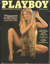 PLAYBOY June 1978-VERY Long Haired Playmate of Year, Racy George Burns Interview