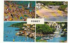 Vintage unused Postcard Cornwall, b7185 Fowey