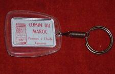 Porte-clé Cumin du maroc pomme à Huile couscous POIVRE EPICES SULTA GROS FéLIN