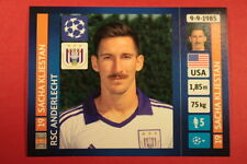 PANINI CHAMPIONS LEAGUE 2013/14 N. 213 KLJESTAN ANDERLECHT BLACK BACK MINT!