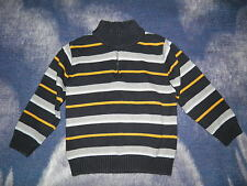 "GYMBOREE ""Ahoy Matey"" Zipper Striped Sweater Size S(5-6)"