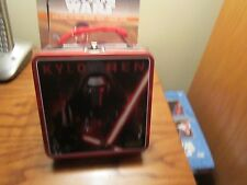 "STAR WARS ""MINI LUNCHBOX"" (STAR WARS THE FORCE AWAKENS  ""KYLO REN"" METAL)!!"