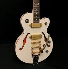 Epiphone Wildkat Royale Semi-Hollowbody Electric Guitar w/ Bigsby - Pearl White
