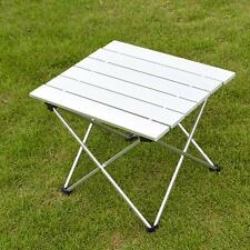 Folding Portable Camping Picnic Table Party Kitchen Outdoor Garden BBQ Aluminum