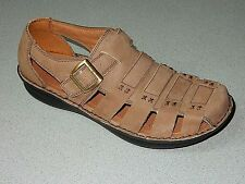 "ALEGRIA  ""MARTINIQUE""    LEATHER  FISHERMAN'S SANDALS  MEN  US 12  EURO 45  NEW"