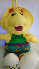 "Playskool  BJ Yellow Barney & Friends Water Pal 12""  ~ 1992"