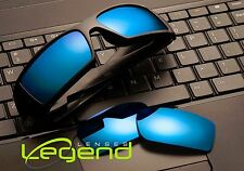 A78 Blue Mirror POLARIZED Replacement Legend Lenses For Oakley GASCAN