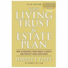 Your Living Trust & Estate Plan: How to Maximize Your Family's Assets -ExLibrary