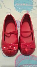 Gymboree Ruby Slippers Glitter Party Shoes Dorothy Wizard Oz US8UK7 GUC Next D P