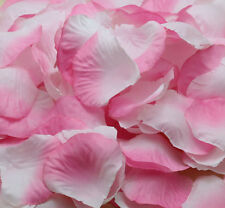 100pcs NEW Silk Flowers Rose Petals Wedding Party Floral Crafts pink white