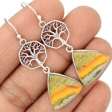 Tree Of Life - Indonesian Bumble Bee 925 Sterling Silver Earrings SE127834