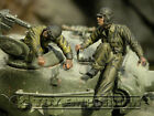 Custom Built 1:35 WWII US Tank Bail Out Soldier Set