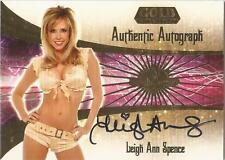 "Benchwarmer 2007 Gold Edition -  #19 of 30 ""Leigh Ann Spence"" Autograph Card"