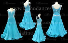 Tailored Ballroom Smooth Dance Dress With High Quality Rhinestone ST154