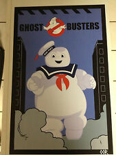 """Ghostbusters Stay Puft Marshmallow Man 17""""x26"""" movie poster print"""