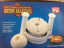Great American Steakhouse Onion Machine As Seen On TV!