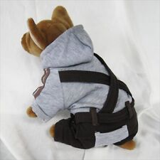 Gr Overall Jumpsuit pet dog clothes APPAREL Chihuahua S