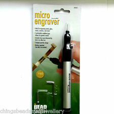 Beadsmith Battery powered Micro Engraver for metal, glass, wood, ceramics
