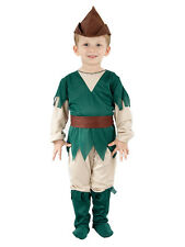 Boys Toddler Robin Hood Fancy Dress Costume Child Kid Book Week Outfit Age 2 3 4