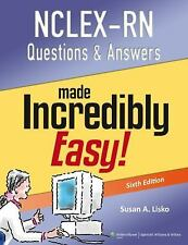 NCLEX-RN® Questions and Answers by Susan Lisko and Springhouse Publishing...