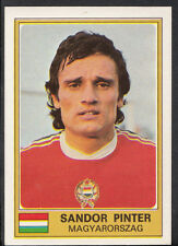 Football Sticker - Panini Euro Football 1976 - No 182 - Sandor Pinter - Hungary