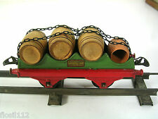 Weinfasswagen,Hornby,Güterwagen, 20/30er Jahre,Spur 0,Top