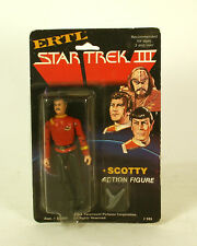 Vintage Star Trek III 3 Scotty Action Figure By Ertl MOC