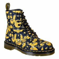 NEW Dr. Martens Castel X Adventure Time, Jake Print, Women Size 12 (10 UK) $135