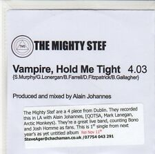 (EQ337) The Mighty Stef, Vampire, Hold Me Tight - DJ CD
