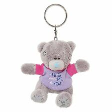 "Me to You 3"" Hug From Me to You Key Ring Plush & Purple T-Shirt - Tatty Teddy"