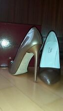 1969 shoes scarpe high heels tacchi alti made in Italy 39 eu - 9 us - 6 uk