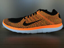 NEW Nike FREE FLYKNIT 4.0 RUNNING SHOES Size 10 $120 631053 011