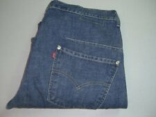 Mens LEVI'S STRAUSS Engineered Twisted Denim Jeans W32 L32 Blue 32x32