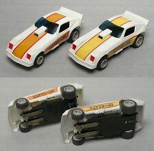 2 Matchbox 1979 CATCH-ME MONZA FUNNY CAR HO Slot Car 12V VaRiAtIoNs 3742 UNUSED!