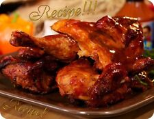 "☆HOT~Tenderizes Meat!☆Jalapeno & Beer Barbecue Sauce ""RECIPE""☆Grill OR Bake!☆"