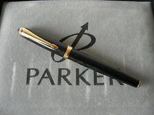 Parker Ellipse Black Gold Rollerbal