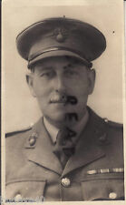 WW1 Officer Royal Fusiliers wearing WW1 medal ribbons