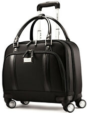 Samsonite Womens Spinner Mobile Office Laptop Briefcase - Black