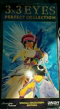 Brand New 3X3 EYES Perfect Collection Special Collectors Edition ANIME VHS
